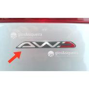 Emblema Awd Asx Outlander - Original Mitsubishi