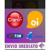Recarga Celular Crédito Online Oi E Nextel R$ 10,00