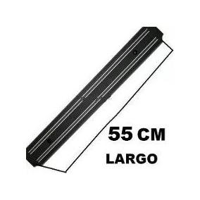 Porta Cuchillos Con Soporte Iman Magnetico Cocina 55 Cm