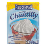 Creme Tipo Chantilly Fleischmann 200ml