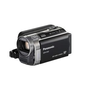 Video Camara Panasonic Mod Sdr H100, 80 Gb, De 78x Zoom