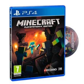Juego Ps4 Minecraft Play4 Fisico Original Sellado Nuevo