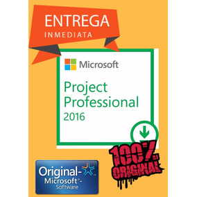 Licencia Project 2016 Professional Plus
