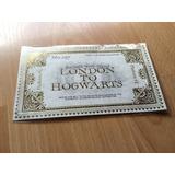 Boleto Ticket Tren Harry Potter Plataforma 9 3/4 · Original