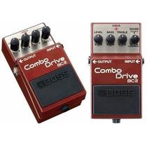 Pedal De Efeito Boss Bc-2 Combo Drive Para Guitarra