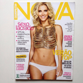 Revista Nova Nº484 Carolina Dieckmann Ano 2014