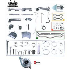 Kit Turbo Caminhão Mercedes Motor Om 352 C Turbina 1113
