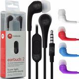 Auriculares Motorola Original Moto G4 G5 Play Plus Z E G2 G3