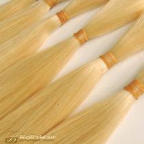 Cabelo 100% Humano Loiro Liso 60cm 200g Mega Hair Atacado