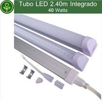 Tubo Led T8 2.40m 8ft 40w Lampara Integrado Colgante Techo