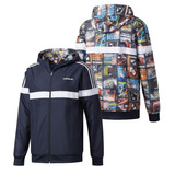 adidas Hombre Rompeviento Campera Reversible Back To School