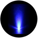 100 Leds Ultrabrillantes De 3mm - Azules / 06072018