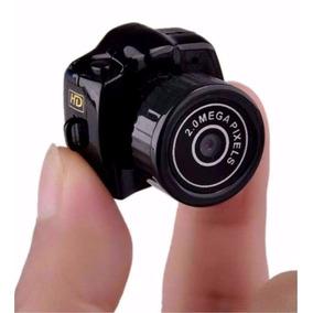 Mini Micro Câmera Dv Filmadora 720p 2.0 Mp Espiã Menor Mundo