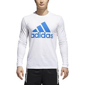 Camiseta Adidas Negra Con Estampado - Camisetas de Hombre en Mercado ... da15a81f5c9f3