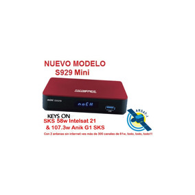 Fta Tocomfree Mini S929 Hd *ideal Arsat1 100% Legal