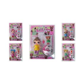 Boneca Lol Surprise 1 Boneca Grande + 1 Pequena + 1 Bola Cad