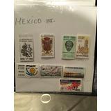 Timbres Postales Set Mexico Año 1977
