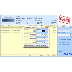 Software, Sistema, Impressora Bematech 4200 E Epson Tm-t20