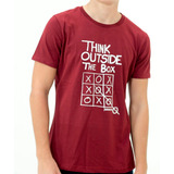 Remera The Panaholma Co Think Outside The Box Slim Fit Bor