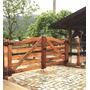 Porteira De Madeira - Modelo Arco - 1,70m X 3,00m