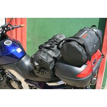 Mala Mochila Bolsa Impermeável Moto Big Trail Viagem Max