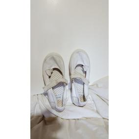 Sandalias Blancas Mimo Talle 34 Muy Poco Uso