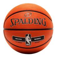 Pelota Basquet Spalding Nba Silver Nº5 Junior Basket