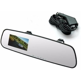 Retrovisor Camera Filmadora Espia Veicular Full-hd Dvr