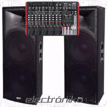 Consola Potenciada Novik Nvk 1200p Usb+ 2 Columnas Skp Sk215
