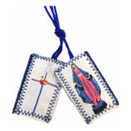 Escapulario Virgen De La Paz Tejido 50 Piezas