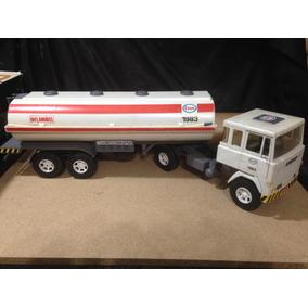 Caminhão Carreta Scania Elka Tanque Esso 1983 Lindo Veja