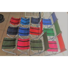 Sillas Y Bancos Plegables 30x30x50 Cm De Alto Varios Colores
