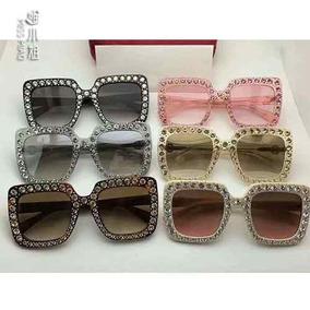 5d1bbbc18dc3a Oculos De Sol Gatinho Com Aste Dourada - Óculos no Mercado Livre Brasil