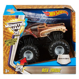 Hot Wheels Monster Jam 1:43 Monster Mutt (con Rev Tredz)