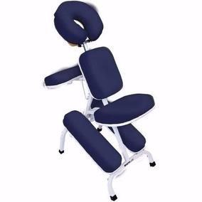 Cadeira Quick Massagem Profissional Legno Azul Marinho