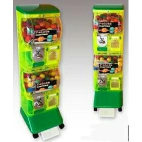 Capsula Pokemon Etc Maquina De Bolinha Vending Machine100 Un