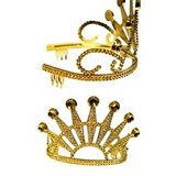 San Patricio, Mardi Gras, Oro Plástico Elegante Diamante Co