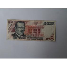 Billete 100 Nuevos Pesos Plutarco Elias Calles