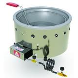 Fritadeira Tacho Para Salgados 7l Aço Inox Gás Pr-70g Progas
