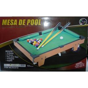 Mesa De Pool Profesional Jeidy Toys Para Niños