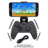 Control Bluetooth Con Vibración Y Soporte Tablet Pc Android