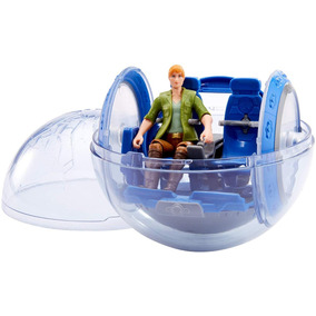 Jurassic World Story Gyrosphere Y Claire Pack De Figura