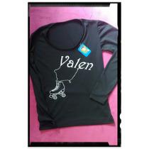 Conjunto Patin Artistico Nena -calza Y Remera-