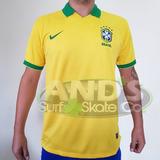 Camisa Seleção Brasil Copa 14  S nº Torcedor Nike Canarinho b6f16db62b5b7