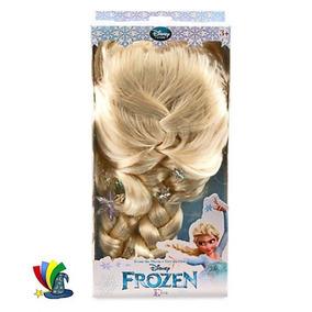 Disfraz Elsa Frozen Peluca 100% Original Disney Store