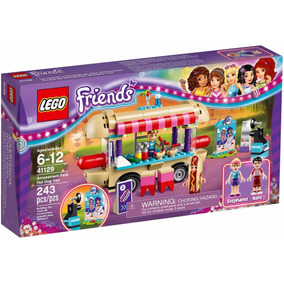 Lego Friends 41129 Parque De Diversiones Camioneta Hot Dogs
