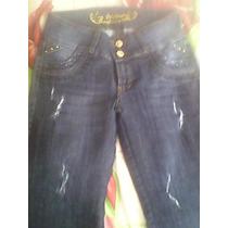 Pantalon Bluejeans Bonage Studiof Levantacola Dama Original
