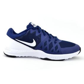 Tenis Nike Azul Marino Hombre Textil [nik1805]