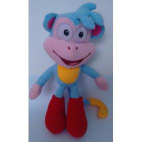 Pelúcia Macaco Botas - Turma Da Dora Aventureira