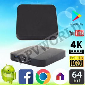 Smart Tv Box Android 7.1 4k Wifi 2gb Ram 16gb 64 Bit Usb 3.0